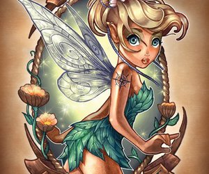 disney, clochette, and tinkerbell image