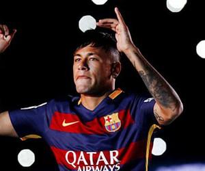 football, msn, and fc barcelona image