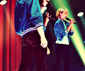 dianna agron and chris colfer image