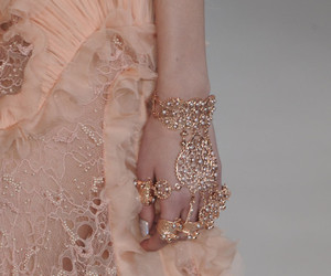 fashion, pink, and Alexander McQueen image