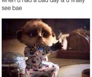 bae, hug, and bad day image