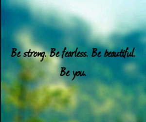 quote, beautiful, and fearless image