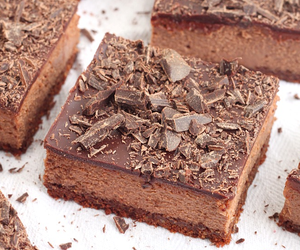 cheesecake and chocolate image