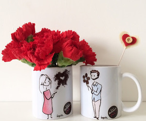 coffee, love, and cup image