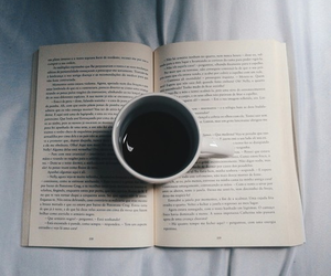 book, coffee, and grunge image