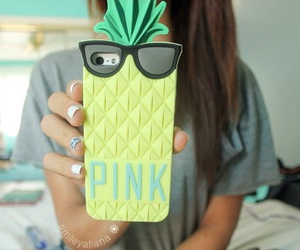 tumblr, pineapple, and pink image