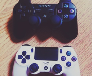 sony, ps4, and games image