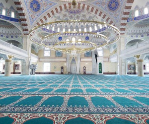 mosque, islam, and mosquee image