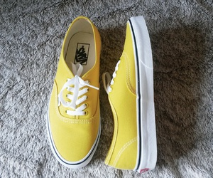 Jaune, vans, and shoes image