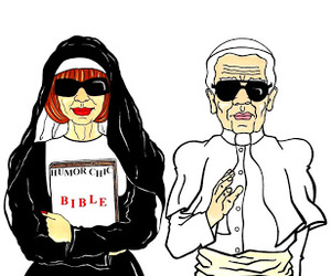Anna Wintour, chanel, and karl lagerfeld image