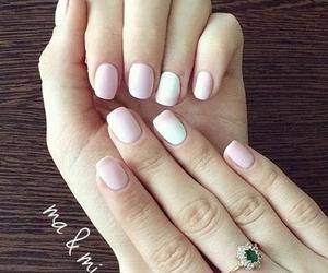 nails, gelish, and ma&mi image