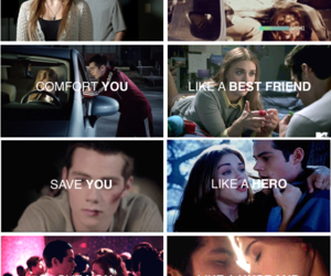 lydia, stiles, and protect image