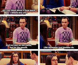 funny, big bang theory, and couple image
