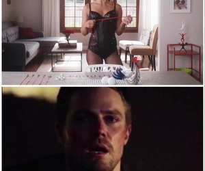 arrow, Felicity, and fun image