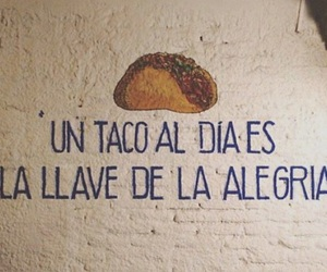 tacos, frases, and mexico image