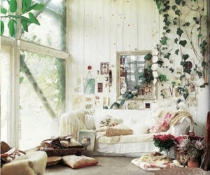 room, green, and nature image