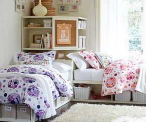 bedding, dorm, and home decor image
