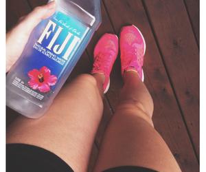 fitness, fiji, and pink image