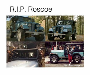 jeep, teen wolf, and roscoe image
