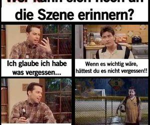 allein, witzig, and deutsch image