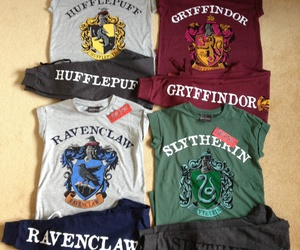 gryffindor, ravenclaw, and slytherin image