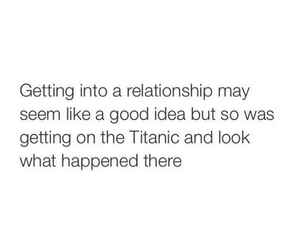 Relationship, funny, and titanic image