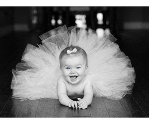baby, ballerina, and smile image