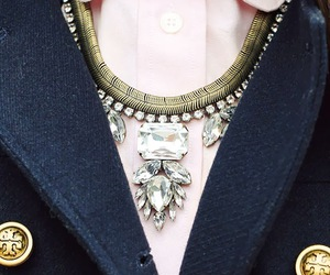 style, necklace, and pink image