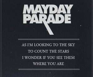mayday parade, Lyrics, and band image
