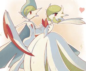 pokemon, gardevoir, and gallade image