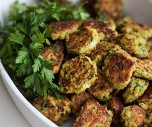 falafel, healthy, and vegan image