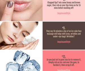 acne, beauty, and lips image