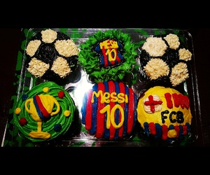 Barcelona, cupcakes, and fc image