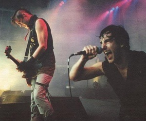 Nine Inch Nails, Trent Reznor, and robin finck image
