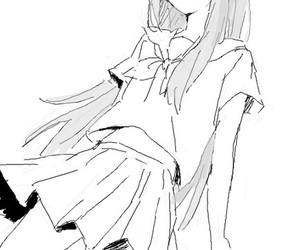 girl and manga image