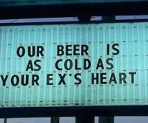 beer, ex, and cold image