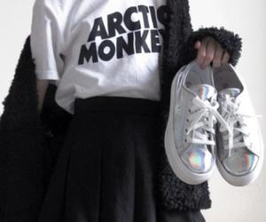 arctic monkeys, grunge, and black image