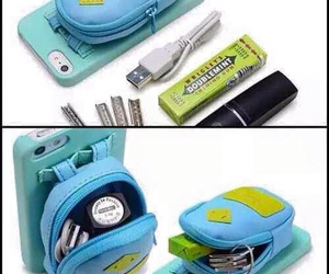 diy, iphone, and bag image