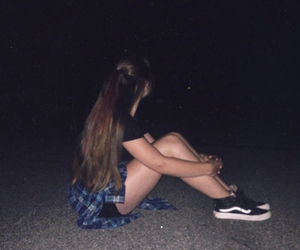 dark, night, and tumblr image