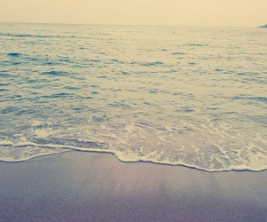 happines, restful, and sea image