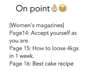 girl, magazine, and shit image