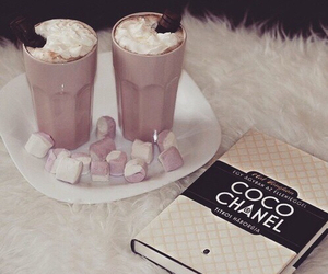 chanel, coco chanel, and book image
