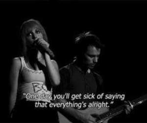 paramore, black and white, and hayley williams image