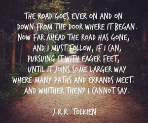 quote and tolkien image