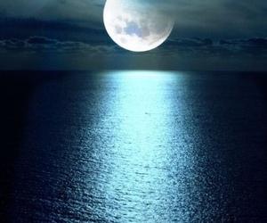 moon, beautiful, and night image
