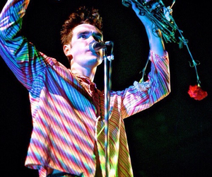 the smiths, morrissey, and flowers image