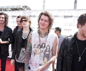 aa, sam bettley, and asking alexandria image