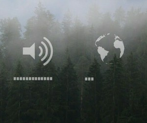 forest, music, and volume image