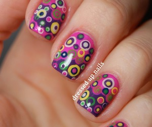 colors, nials, and cute image