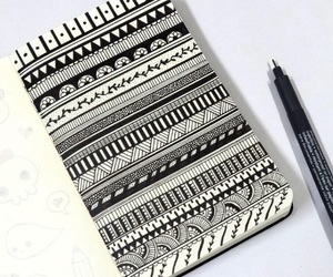 art, drawing, and doodle image